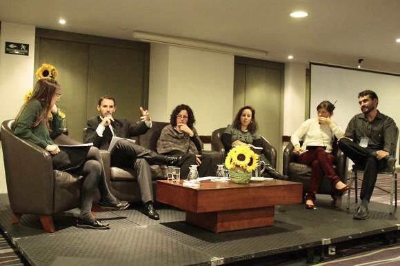 Los panelistas en sus conclusiones