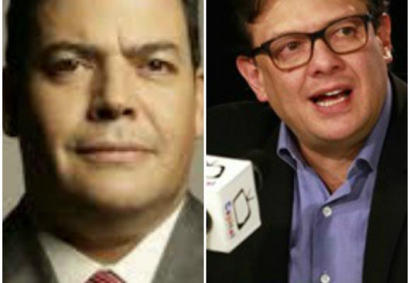 Gustavo Gómez le reclama a Hollman Morris su práctica como periodista cabeza de un canal de tv pública