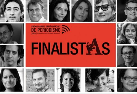 Finalistas premio Gabriel García Márquez