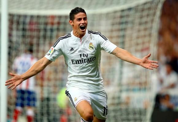 VIDEO: Golazo de James con el Real Madrid en la Liga