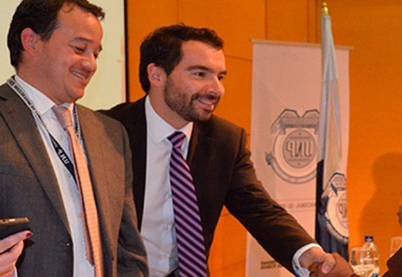 Andrés Villamizar y Julián Marulanda, los dos al mando de la Unidad de Protección que terminaron inculpándose