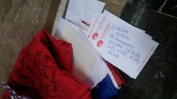 Mensaje en la tumba de Cerati