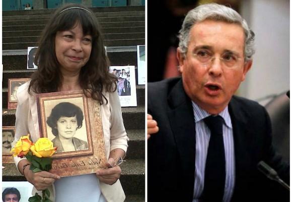 Los familiares de Nydia Erika Bautista le reviran a Uribe