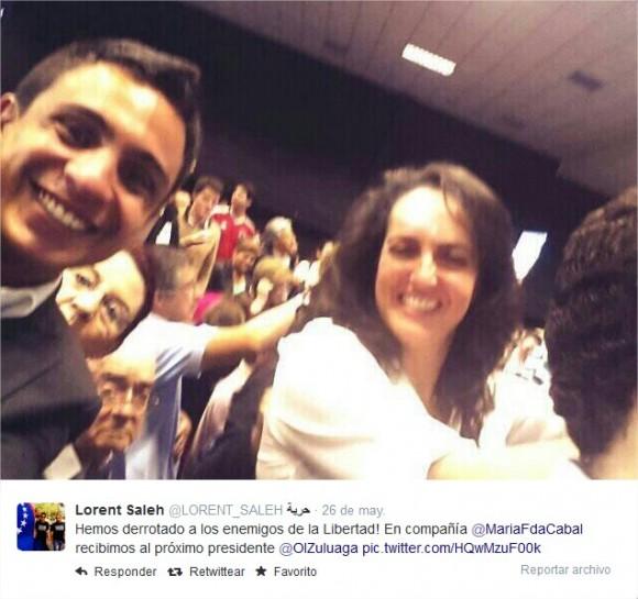 En campaña presidencial de Óscar Iván Zuluaga junto a María Fernanda Cabal