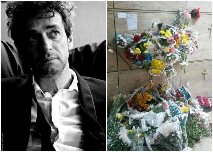 La horrenda tumba de Gustavo Cerati
