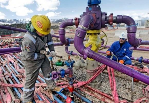 Con gas metano, pero sin agua