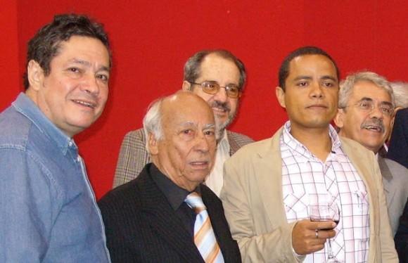 Elmo Valencia en la Feria del Libro 2008