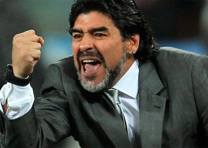 Diego Maradona, un dios humano