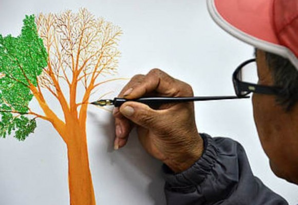 Dibujar para proteger la Amazonía