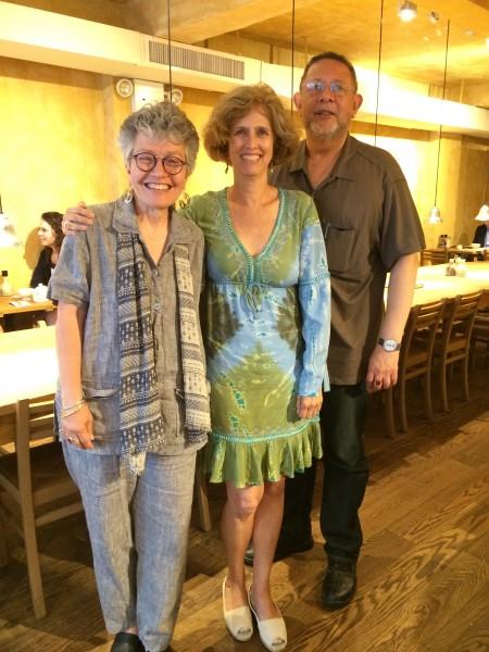 Rosario Caicedo, Patricia Restrepo, y Jaime Manrique / Nueva York, mayo del 2014