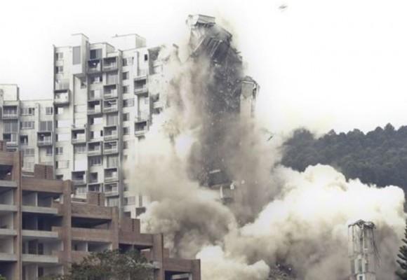 Video: así fue la implosión del conjunto Space