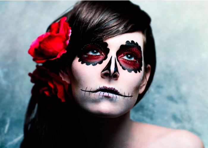 Halloween La Verdadera Historia Dulce O Truco Las2orillas - Cara-pintada-para-halloween