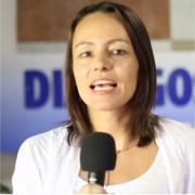 Tanja debuta como presentadora de noticieros