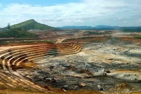 Congo, una mina a cielo abierto de una conjunta de AngloGold Ashanti, Randogold y la empresa minera estatal de RDC, llamado Sokimo. Fuente: Pete Jones/Reuters