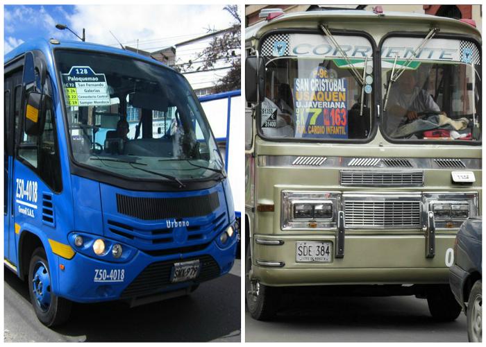 ¿Cuánto gana un chofer de bus SITP y cuánto gana un chofer de bus urbano?