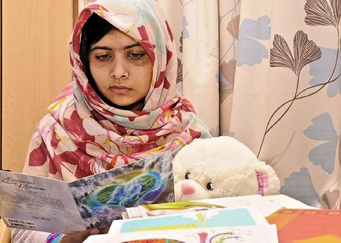 Un encuentro íntimo con Malala