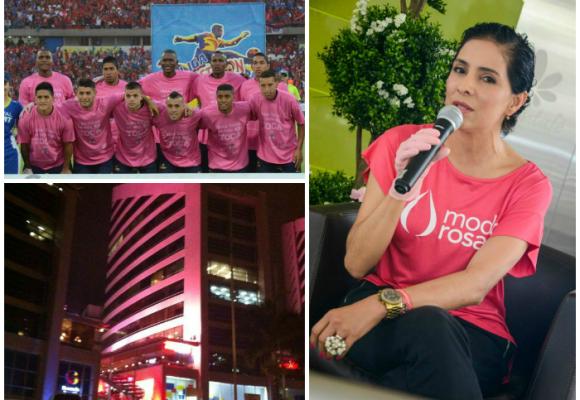 La mujer que pintó a Medellín de rosa