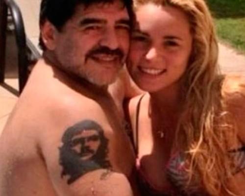 La golpiza de Maradona a su joven esposa Rocío