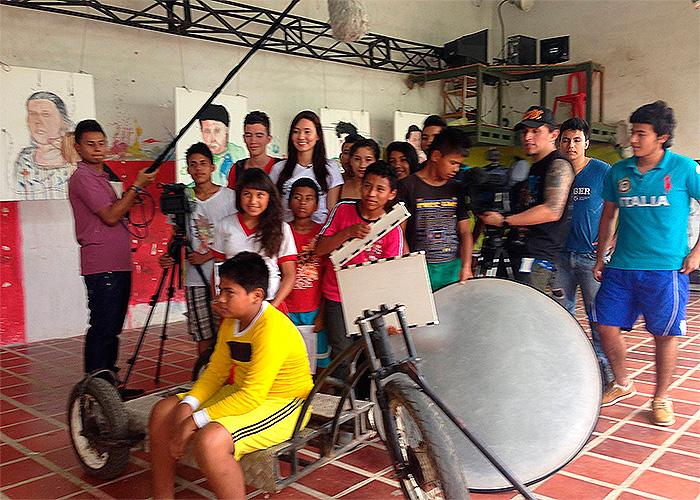 Los niños cineastas de la Amazonía