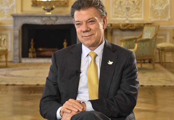 Presidente Santos: ¿Qué le agradece a España?
