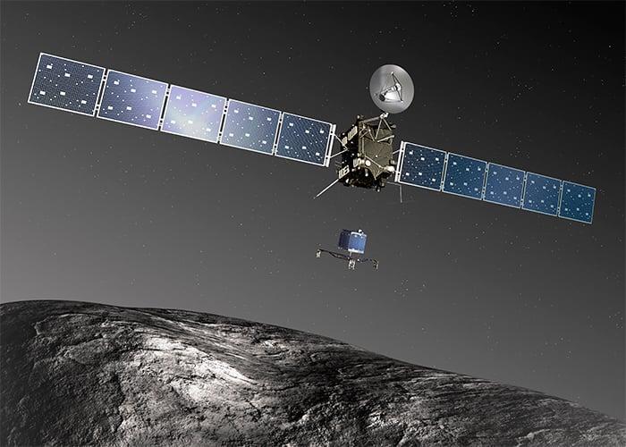 Este es el sonido del cometa que captó la sonda espacial Rosetta desde su superficie