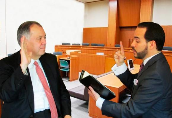 El Procurador General, Alejandro Ordóñez, a Indagatoria con Abelardo De La Espriella