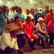 Siguen amenazas contra campesinos de la vereda Guacamayas