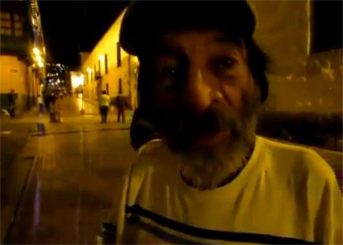 Viral: el habitante de la calle que cuenta un pedacito que no se sabía de la 'Toma del Palacio de Justicia'