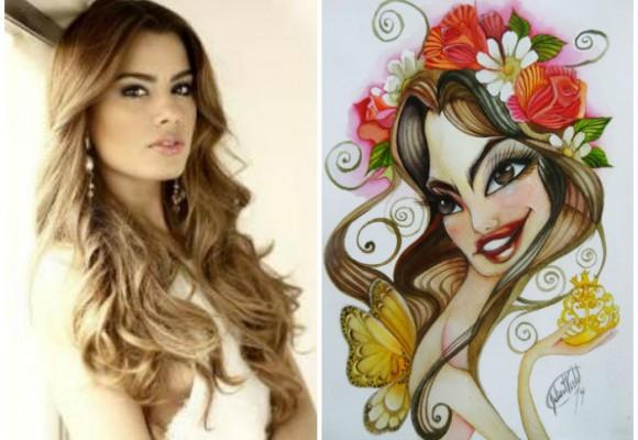 Una caricatura para la nueva señorita Colombia