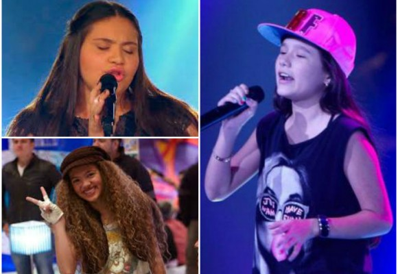 Los vídeos de las tres finalistas de La Voz kids