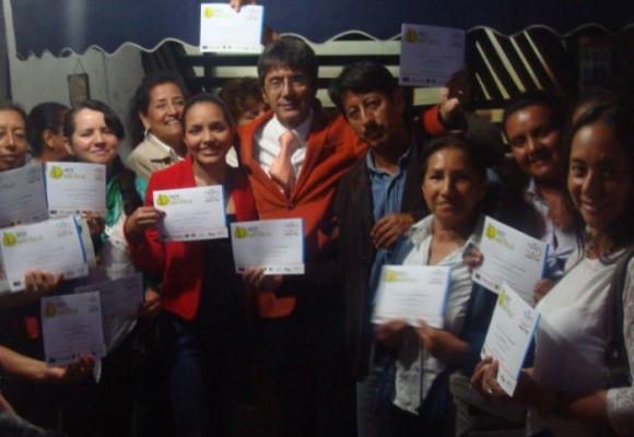 El encuentro de la felicidad en Popayán