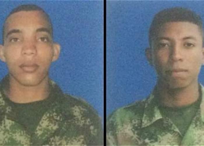 Los dos soldados lograron su libertad en Arauca
