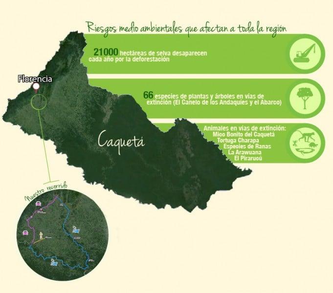 Mapa caquetá
