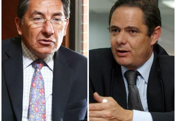 Puja entre Néstor Humberto Martínez y Germán Vargas por el túnel de La Línea