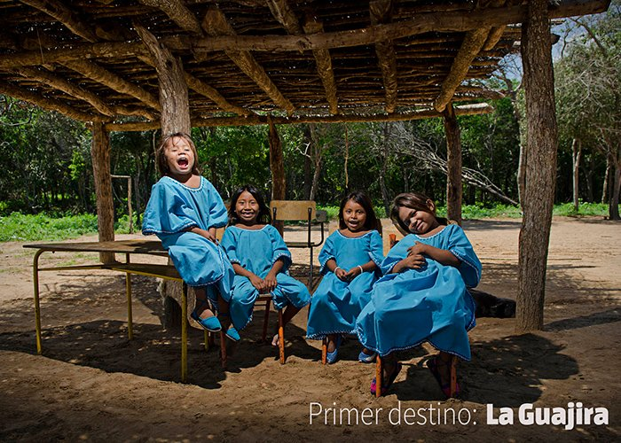 Nuestro primer destino: La Guajira