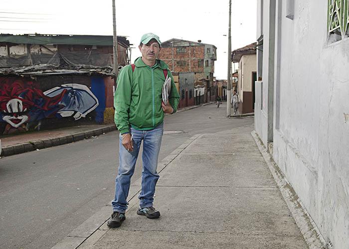 Carlos Jiménez, nuestro guía por 5 minutos.  - Fotografía: Camilo Rozo