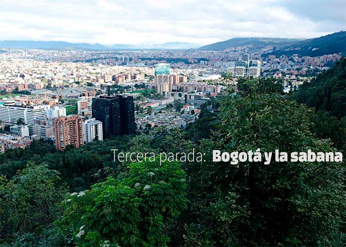Tercer destino: Bogotá