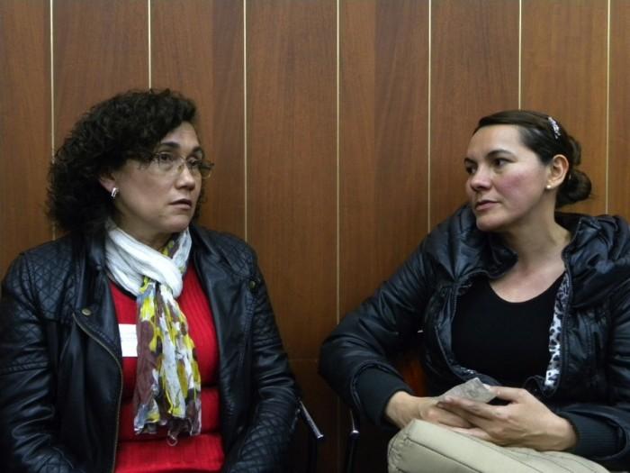 Luz Mery y Sonia Enciso