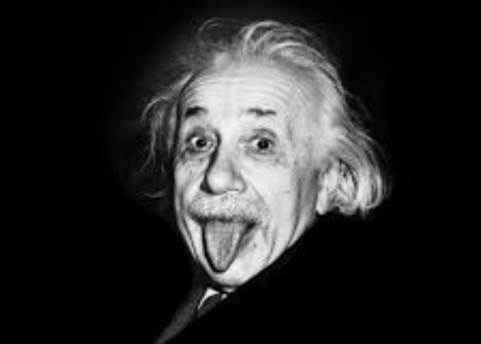 Reconociendo a Albert Einstein