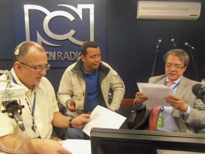 Equipo de El tren de la tarde  de RCN Radio   Foto RCN Radio