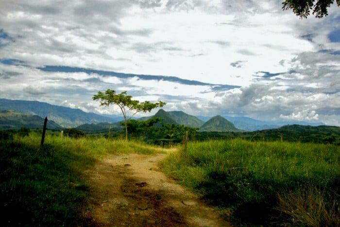 Hacienda La oculta: ésta es la protagonista de la historia. Foto por: Héctor Abad