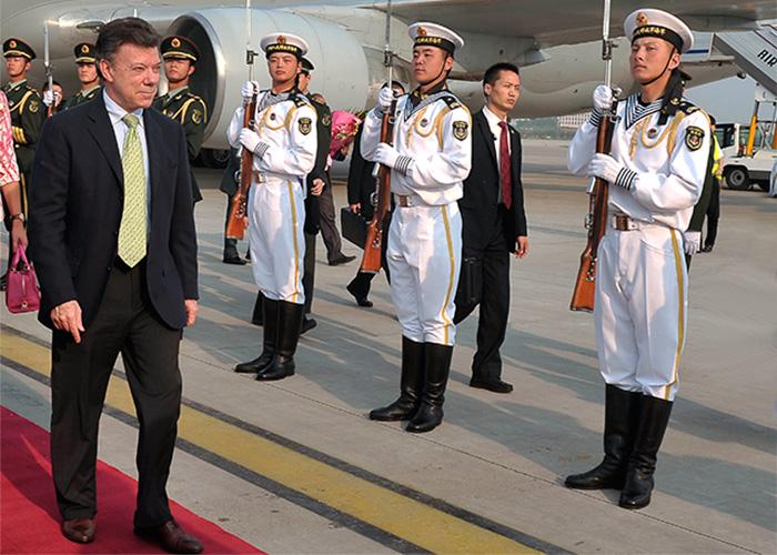 China y Colombia: la distancia es cada día más grande