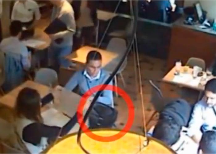 Video: ojo, así roban en el Crepes de la calle 73 en Bogotá