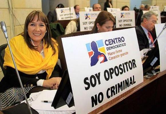 El Centro Democrático, la mayor oposición
