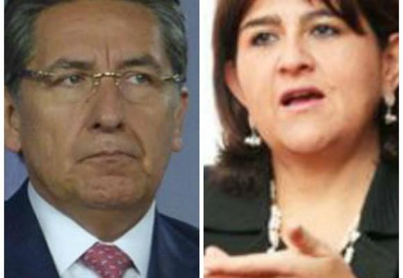 Rivalidades enPalacio: Néstor Humberto Martínez vsMaría Lorena Gutiérrez