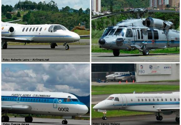 La flotilla de aeronaves VIP de la Fuerza Aérea que usa el alto gobierno