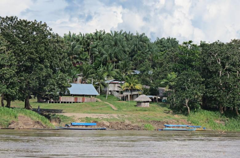 Entrando al Amazonas