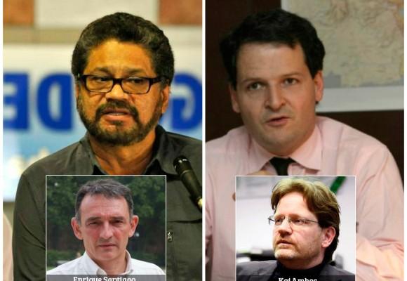 Los pesos pesados detrás de los negociadores del proceso de paz
