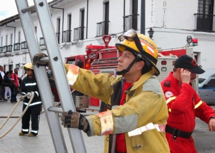 ¿Qué sabemos sobre los bomberos voluntarios de Colombia?