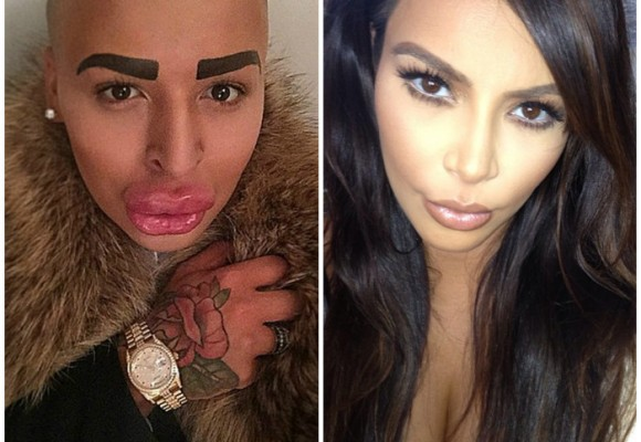 Hombre gasta 300 millones de pesos para parecerse a Kim Kardashian